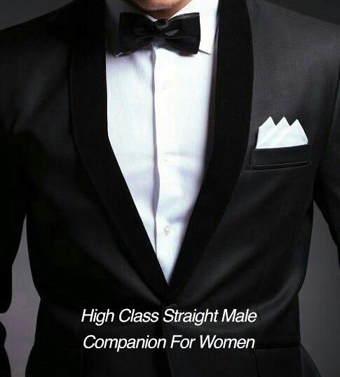 High Class Straight Male Companion For Women